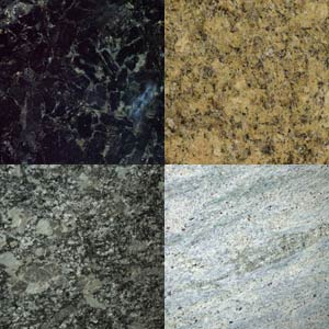Granite kitchen worktops used at Brighton Granite for kitchen worktops