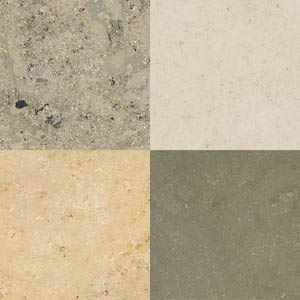 Limestone variations are used at Brighton Granite for worktops, bathrooms and fire hearts.