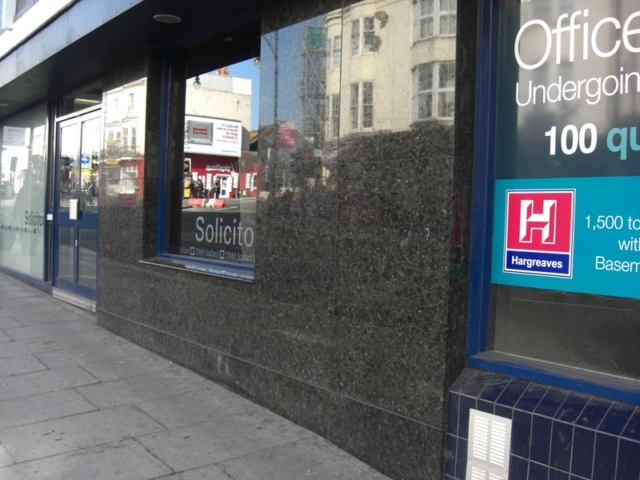 Granite Cladding Shopfront