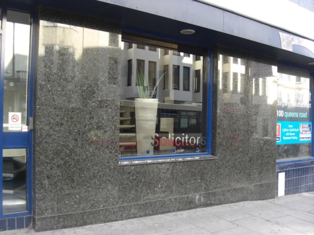 Granite Cladding Shop front