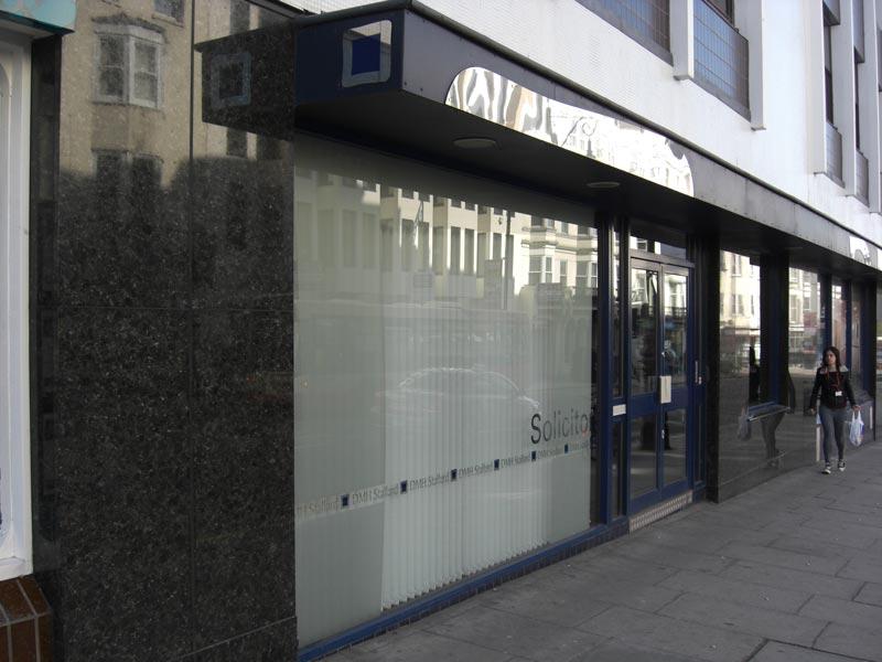 Granite Cladding Shop front