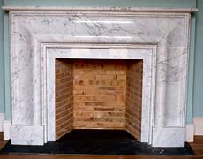 Marble firepalce sorround