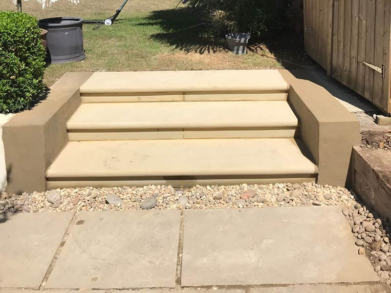 Portland Garden Steps