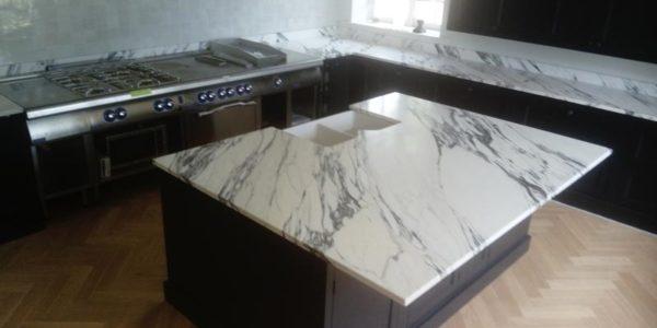 Arabescata Marble Worktops
