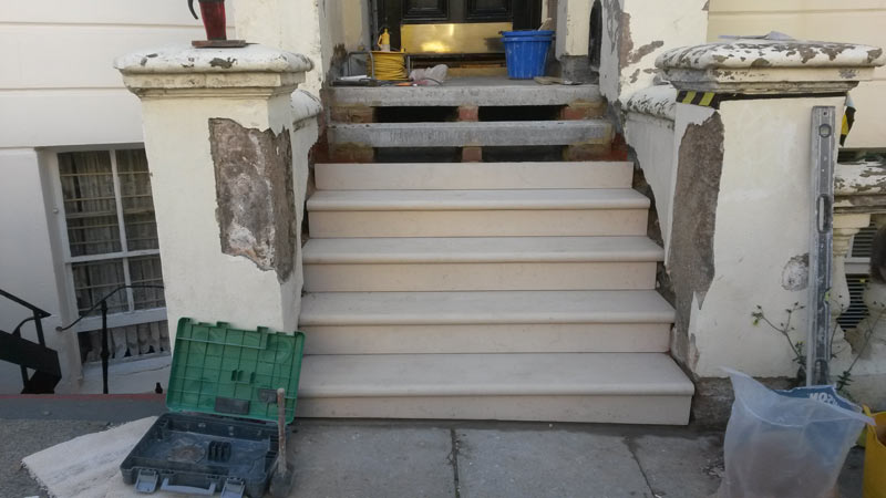 Stone Steps, Treads & Risers