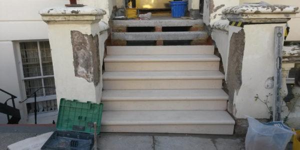 Stone Steps, Treads & Risers